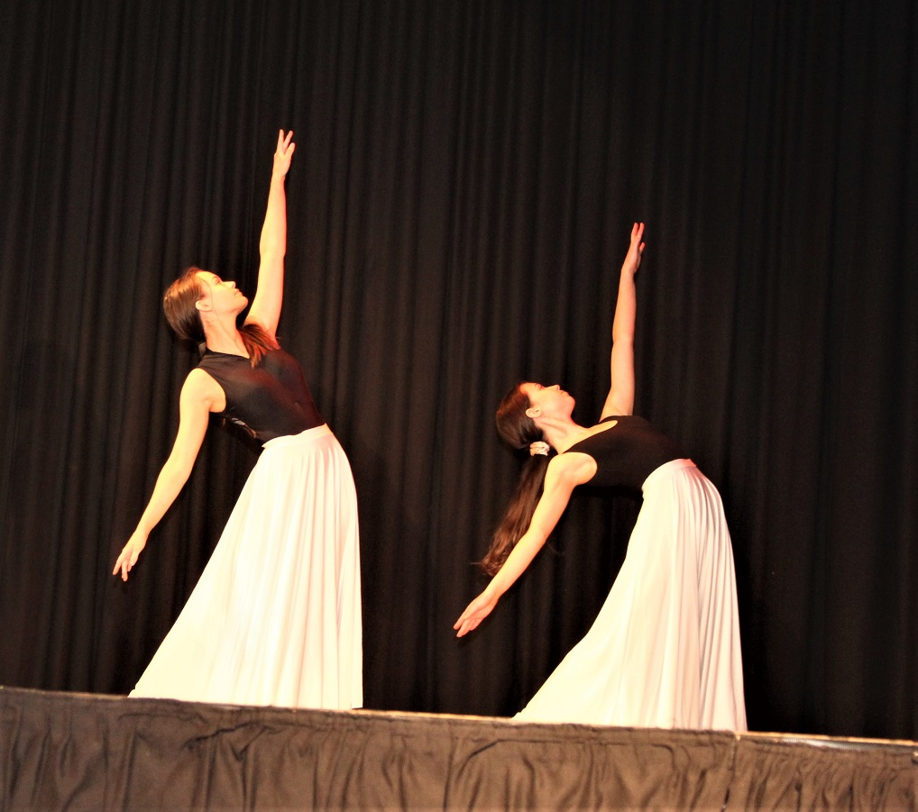 Graceful choreography captivated the audience.
