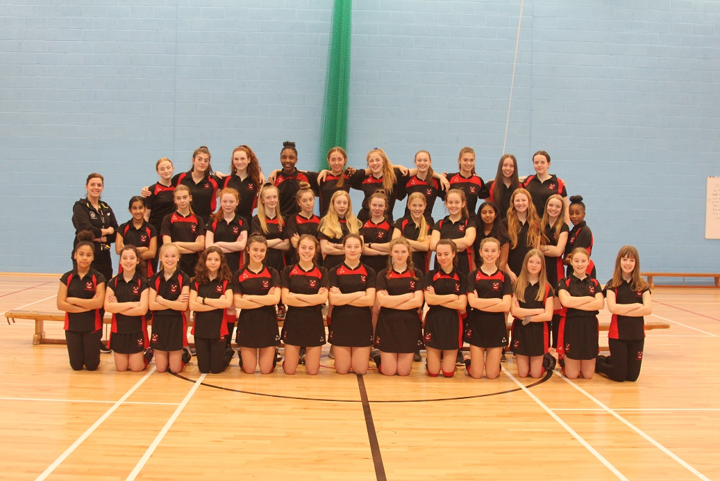 Plantsbrook School's netball teams are champions of Sutton in four year groups – Sixth Form and Years 7, 8 and 10.