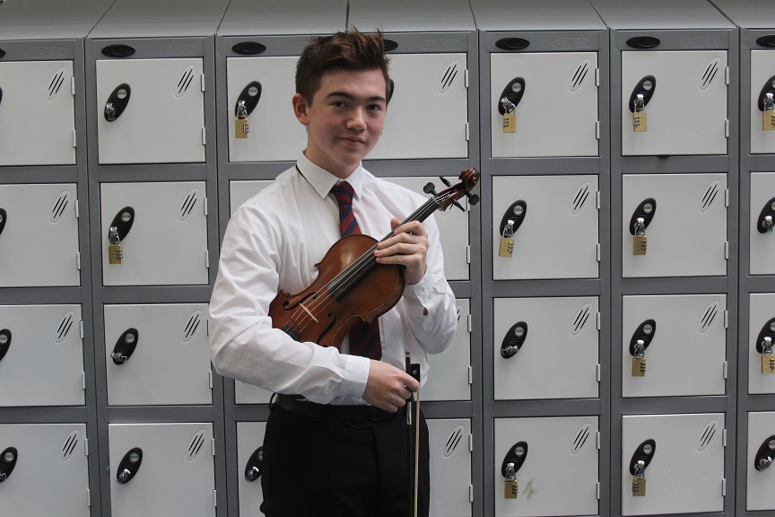 Violinist Kynan Walker, 16, from Sutton Coldfield, has been appointed Leader of the National Youth Orchestra, taking charge of 164 of the UK's most talented young musicians.