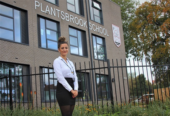 Annabella Kalavanas, aged 18, and her Plantsbrook schoolmates are aiming to raise £3,000 for Sutton charity Cherished.