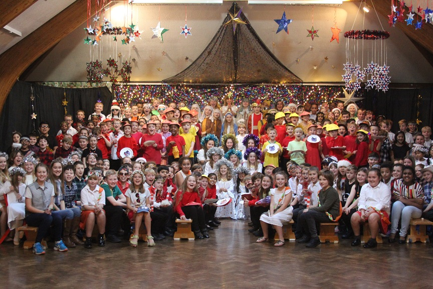 All 240 of Town Junior School's pupils took part in their Christmas show this year.