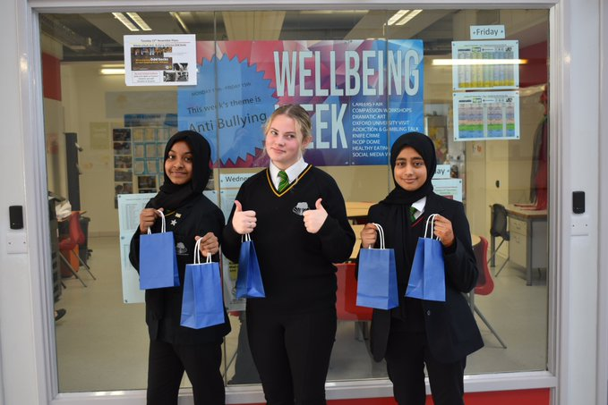 Stockland Green School's third 'Wellbeing Week' has been hailed a success.