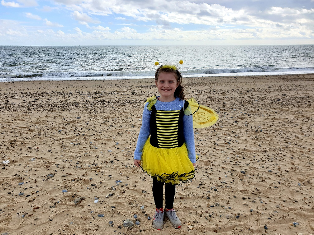 The Bee's Knees: Sophie Wakeman walked 127 miles over the summer holidays to raise cash for her favourite insects.
