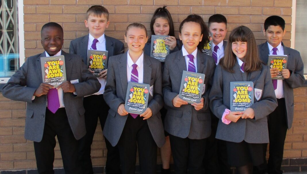 John Willmott students received a copy of Matthew Syed's best-selling children's book 'You Are Awesome!' along with an inspirational video message from the author.