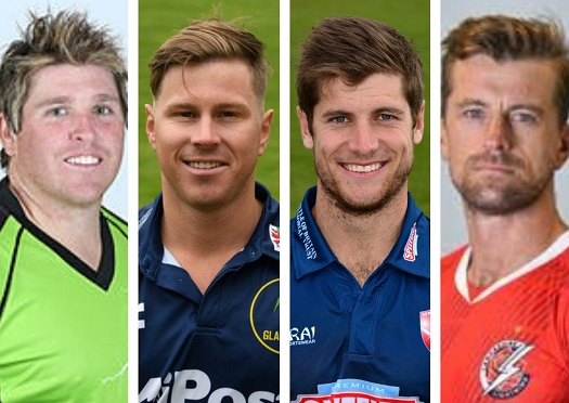International cricketers Mark Cosgrove, Tom Cullen, Sean Dickson and Dane Villas have all appeared on the show.