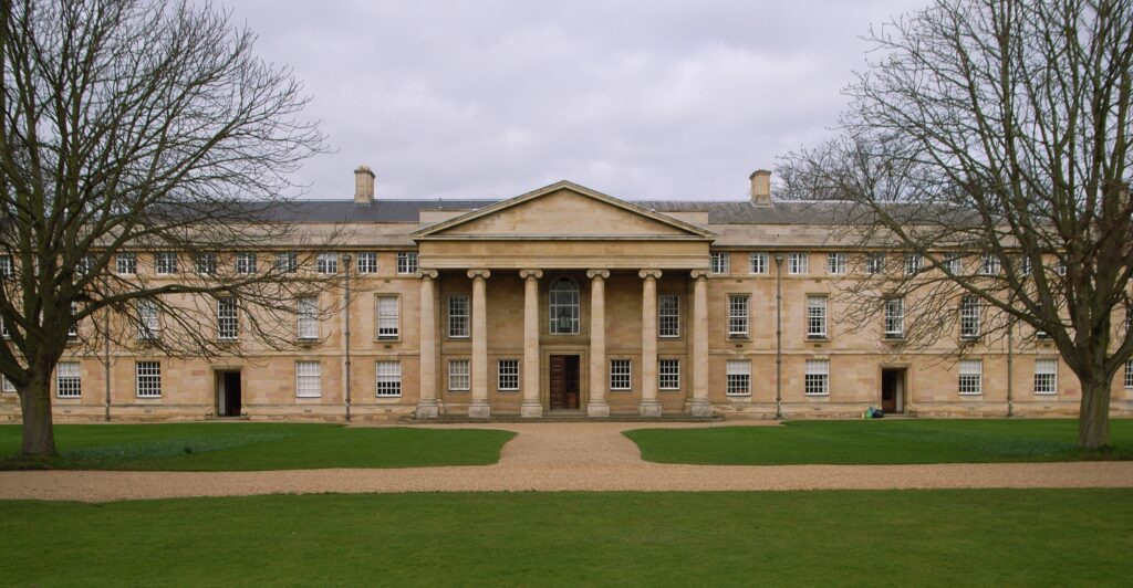 Downing College, Cambridge was founded in 1800.