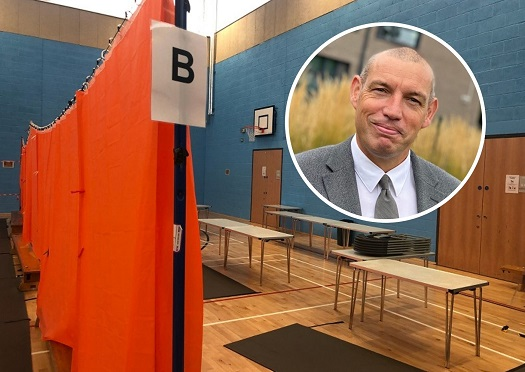 The incredible success of Plantsbrook School's COVID testing saw pupils being tested at a rate of one per minute, says headteacher Jason Farr.