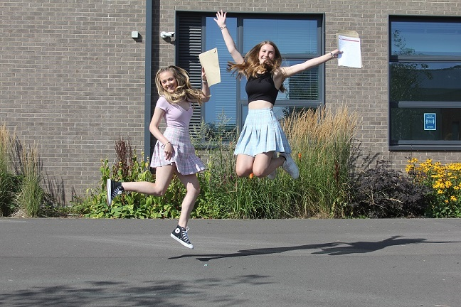 Plantsbrook School GCSE students have been praised for their 'commitment, strength and resilience.'